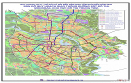 Quy hoạch các tuyến đường sắt đô thị Hà Nội