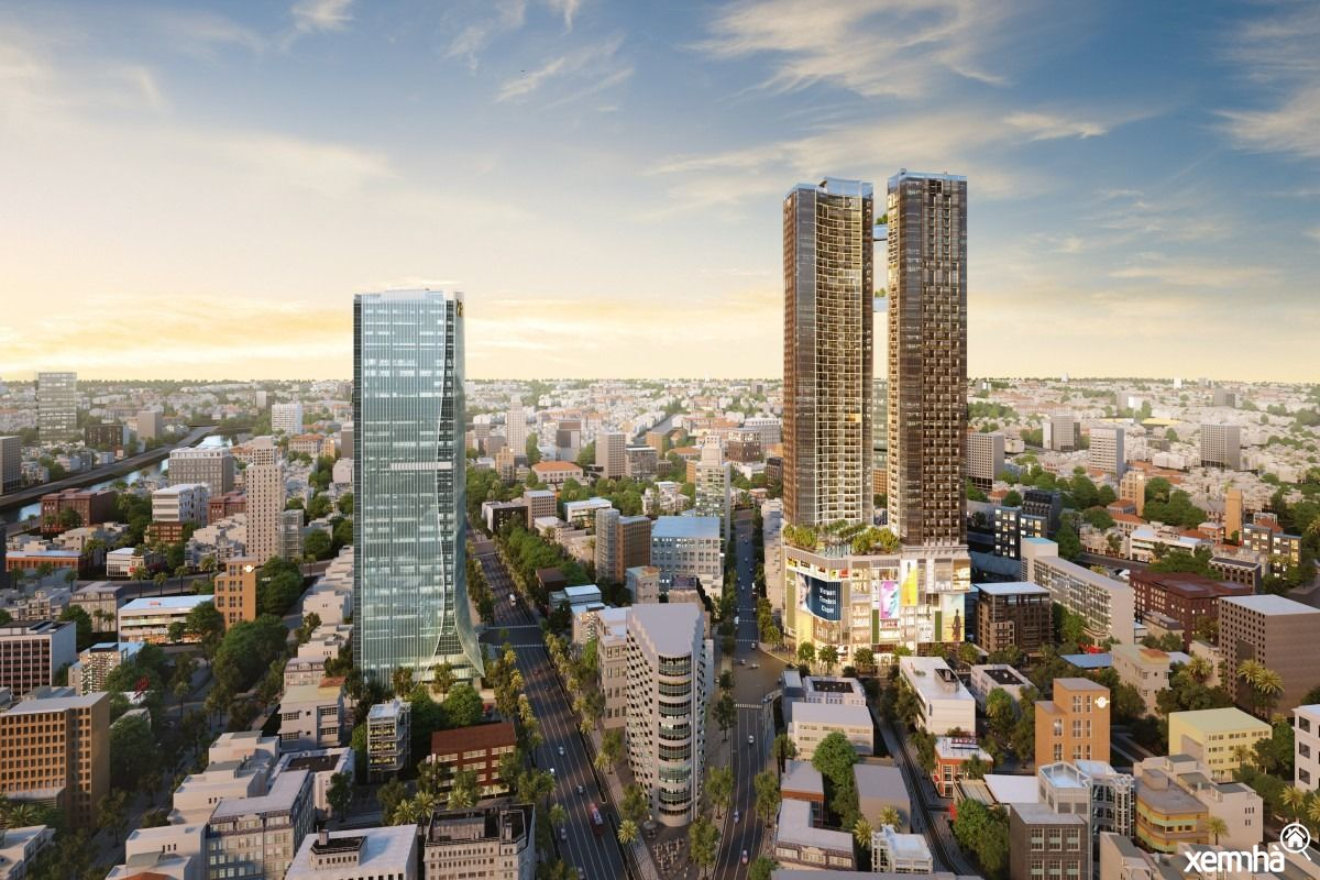 Phối cảnh dự án alpha city