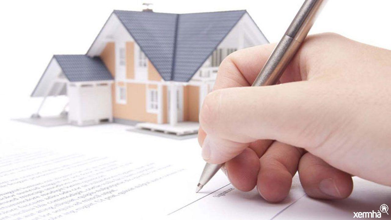 Hợp đồng mua nhà