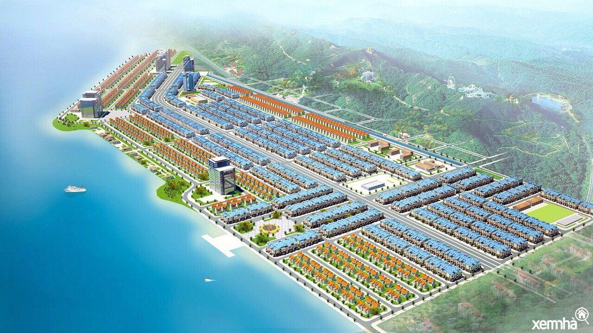 Phối cảnh tổng thể dự án Phương Đông Vân Đồn