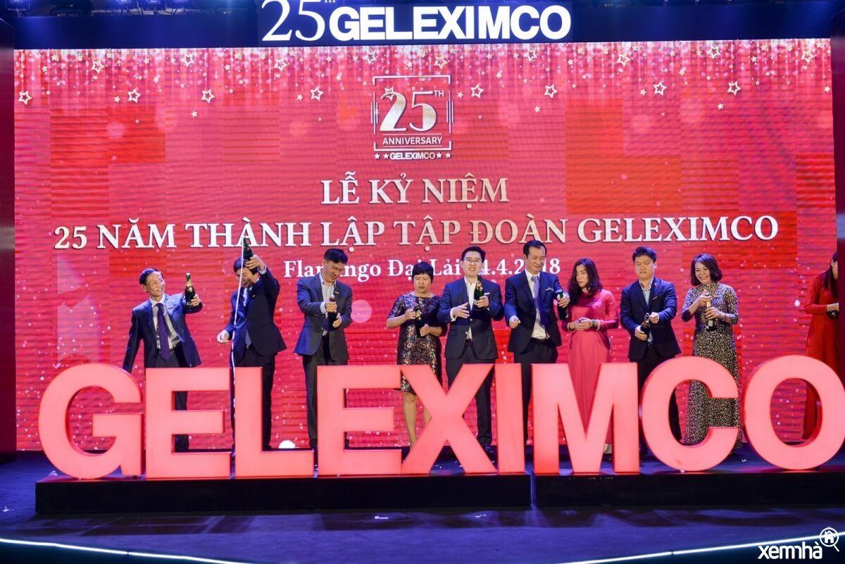 Ảnh kỷ niệm của tập đoàn Geleximco