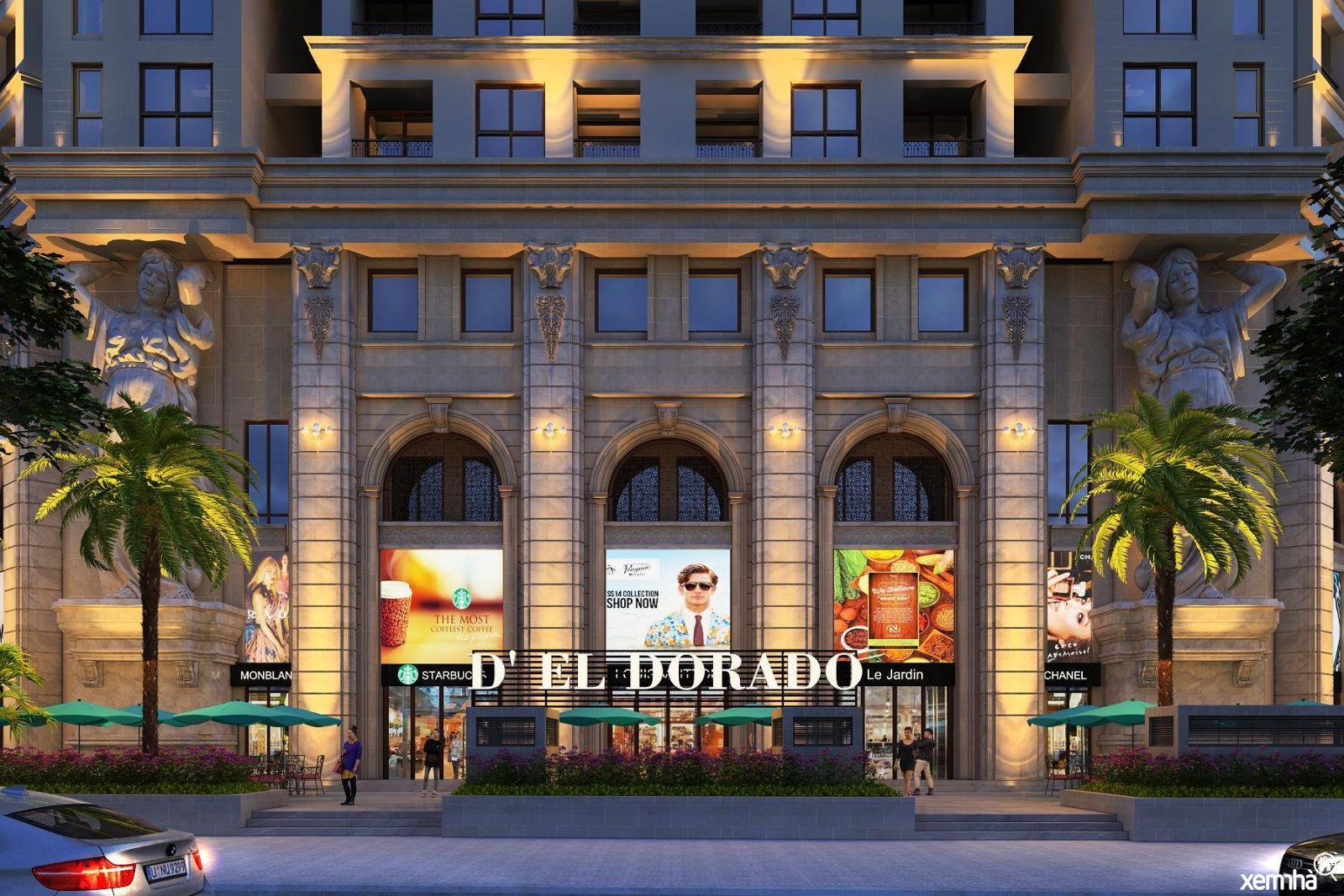 Dự án chung cư D'El Dorado Tây Hồ