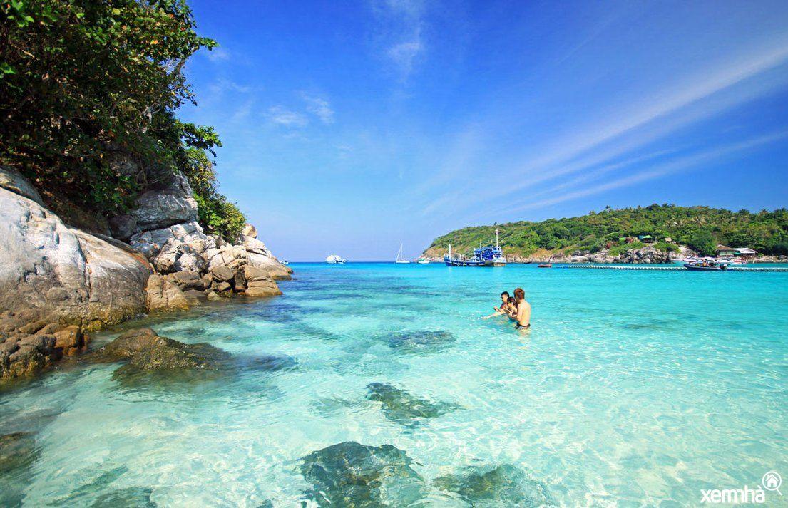 Bãi biển xanh ngắt của đảo ngọc phú quốc