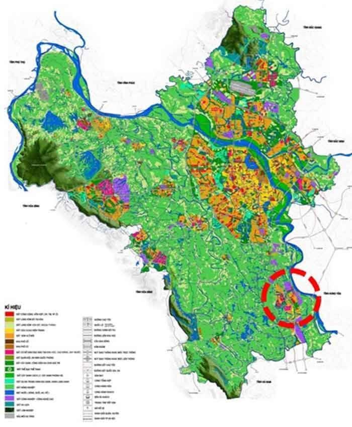 Bản đồ quy hoạch huyện Phú Xuyên