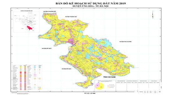 Bản đồ quy hoạch huyện Ứng Hòa