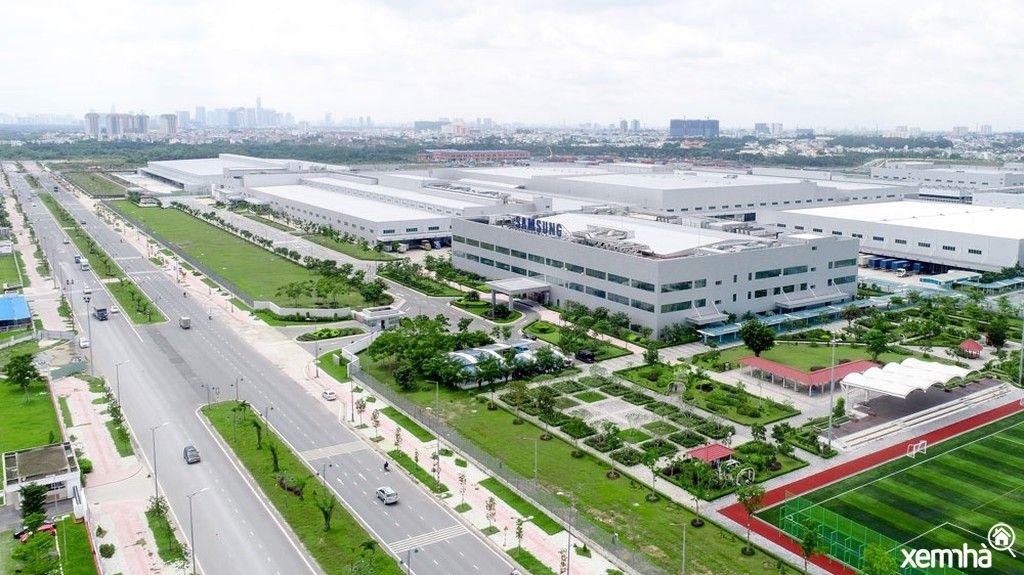 Bất động sản vùng ven các khu công nghiệp