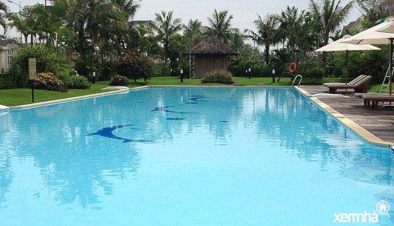 Bể bơi tại An Lạc Symphony
