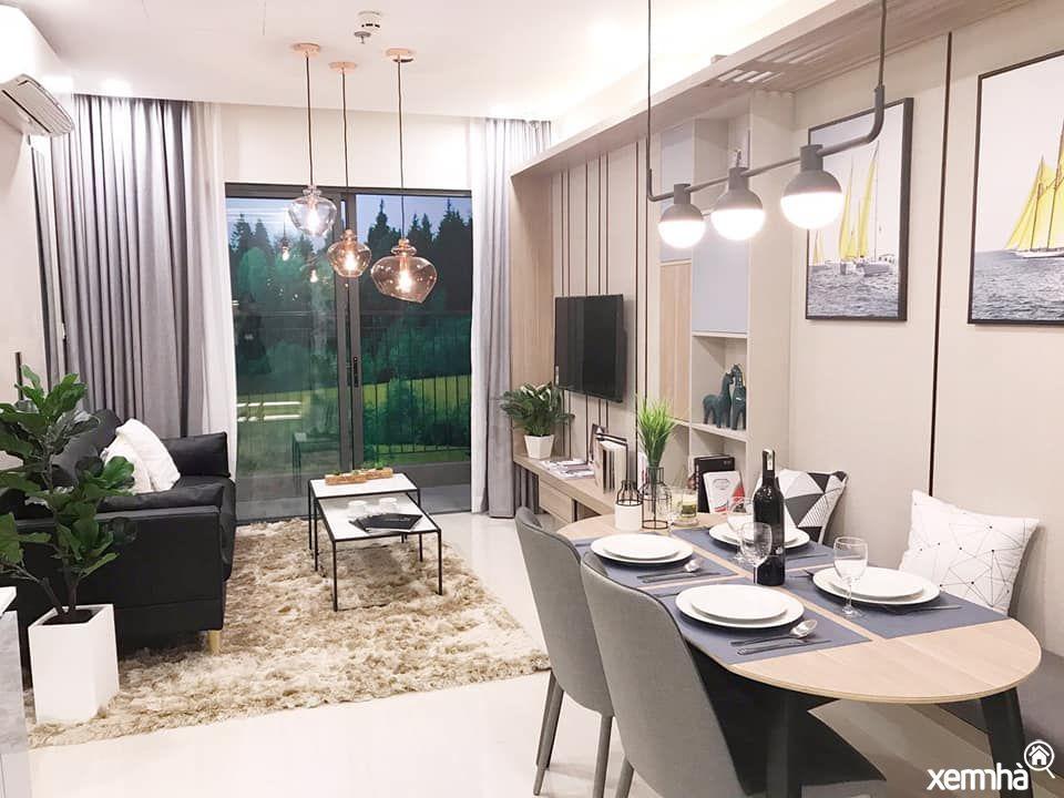Thiết kế mẫu căn hộ Sapphire trong dự án Vinhomes Smart City