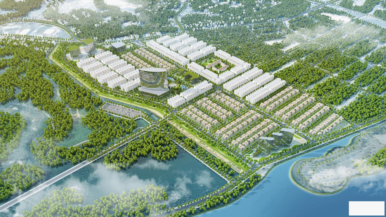 Đất nền cao xanh Hà Khánh