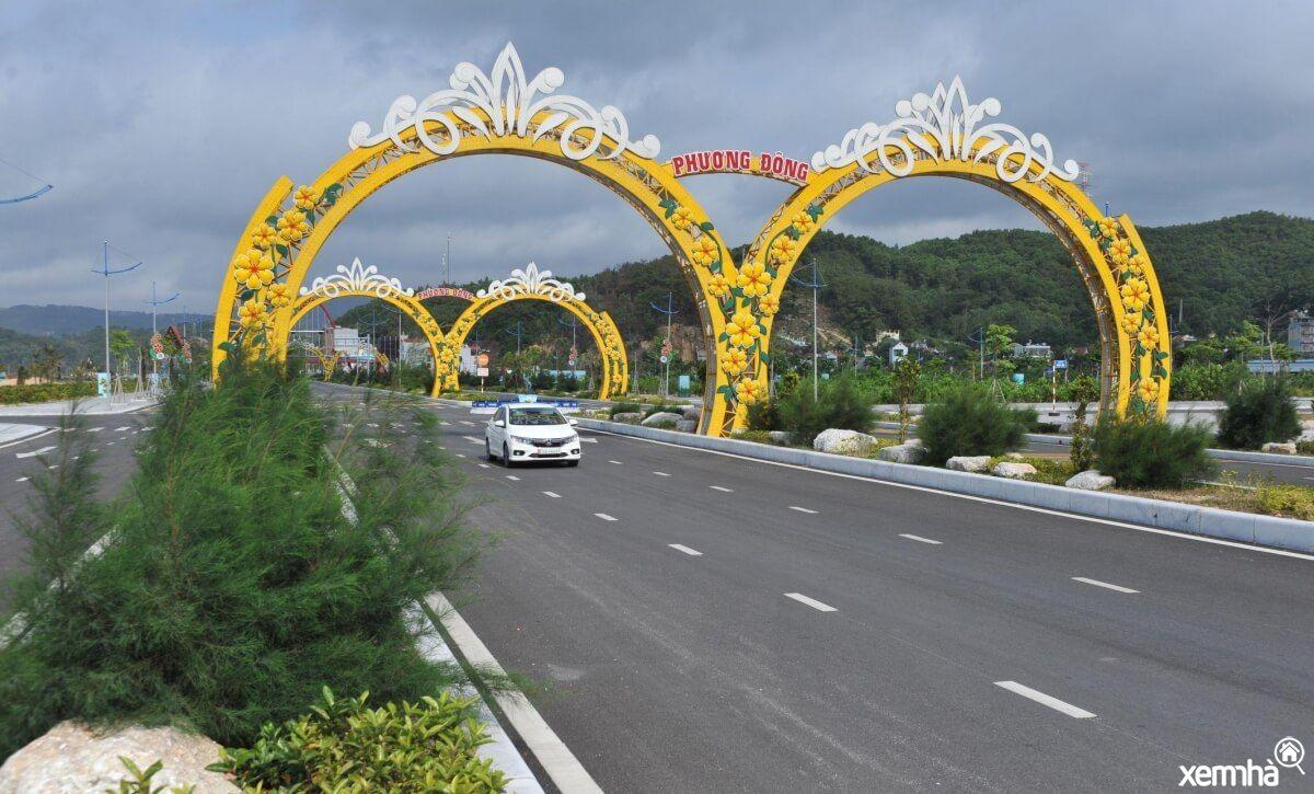 Cổng chào khu đô thị Phương Đông