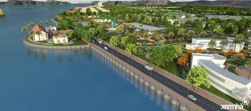 Công viên và khu vui chơi dự án Cao Xanh Hà Khánh