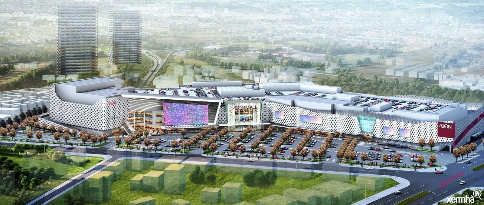 Phối cảnh Aeon Mall Giáp Bát