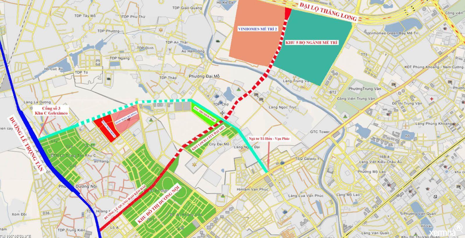 Quy hoạch chi tiết đường 70