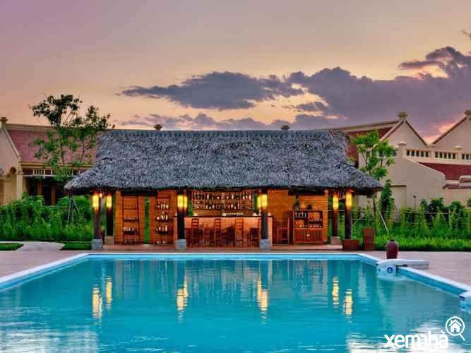 Kiến trúc Bắc Bộ tromg Emeralda Resort Ninh Bình