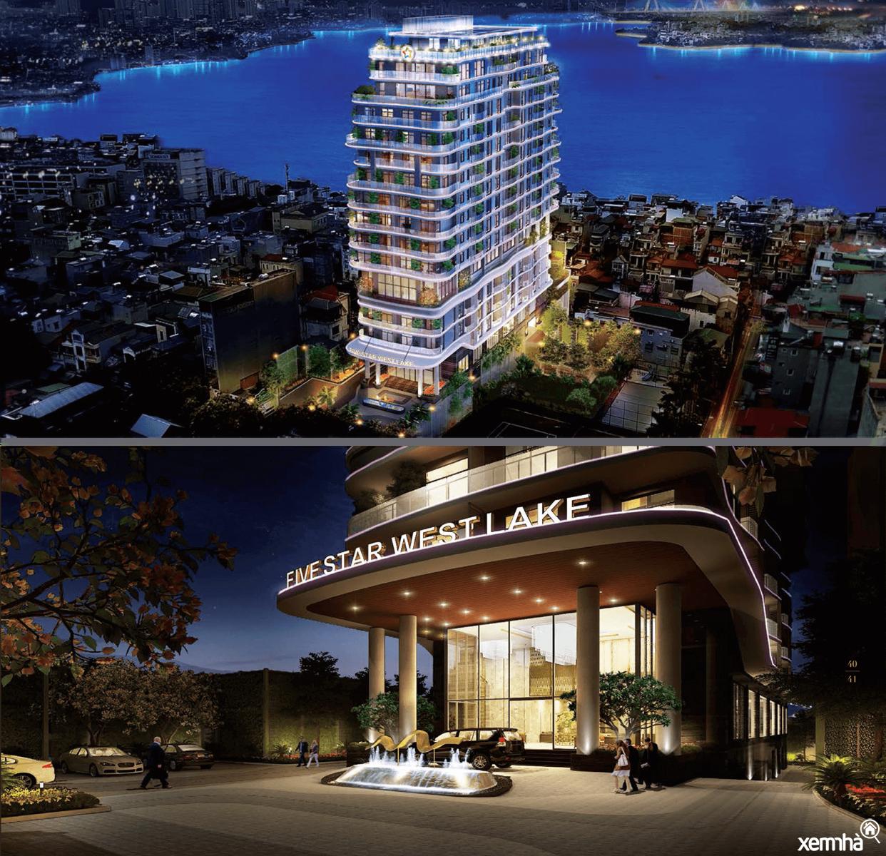 Dự án chung cư five star Tây Hồ