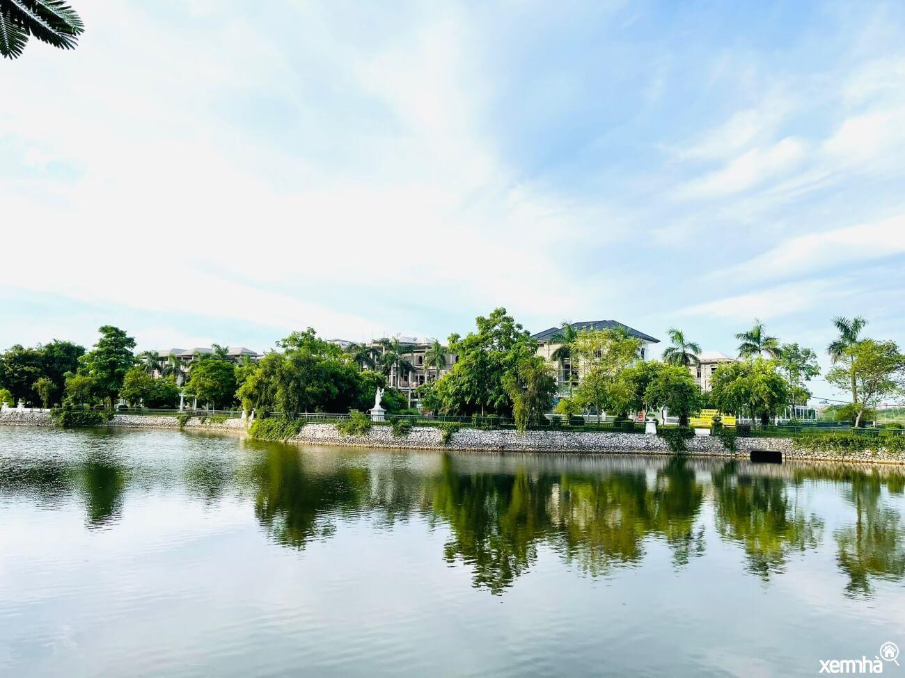 Hồ điều hoà dự án Vườn Cam