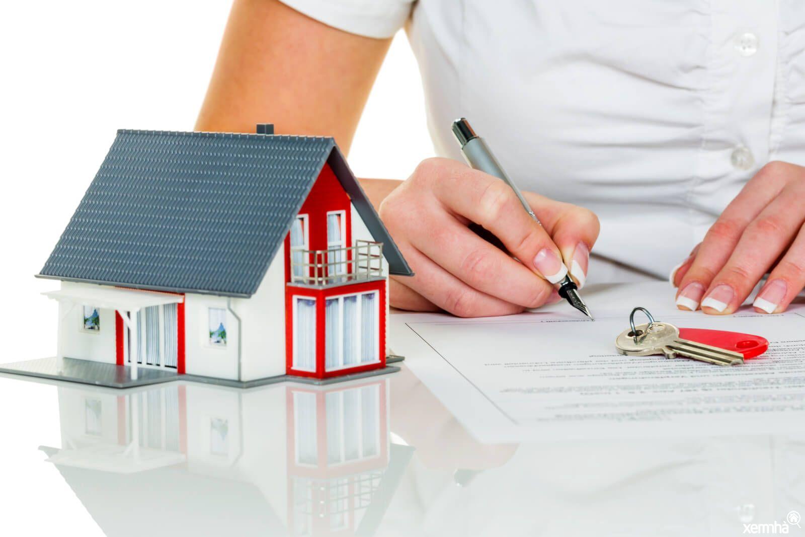 Ký kết Hợp đồng mua nhà