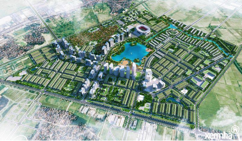 Hưng Yên duyệt quy hoạch khu đô thị gần 300ha của Geleximco