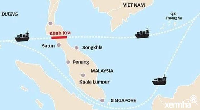 Kênh đào Kra biến Phú Quốc trở thành điểm dừng chân quốc tế