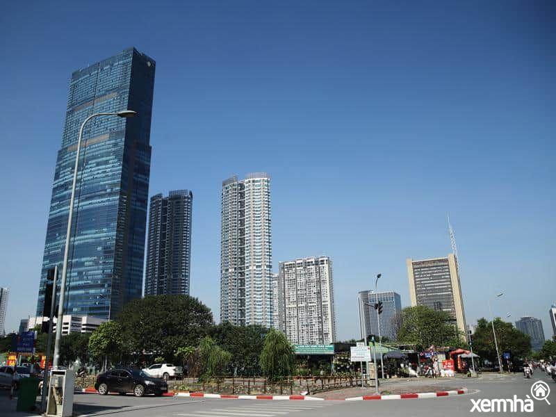 Keangnam Hanoi Landmark Tower - dấu ấn kiến trúc cửa ngõ phía Tây thủ đô