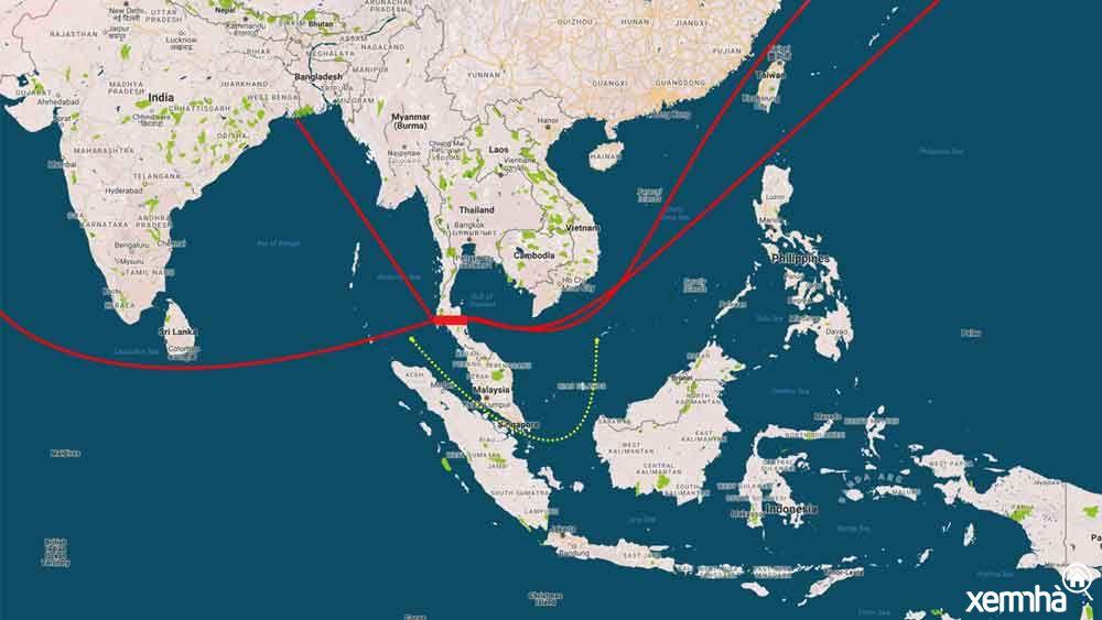 Kênh đào Kra - siêu dự án Thái Lan