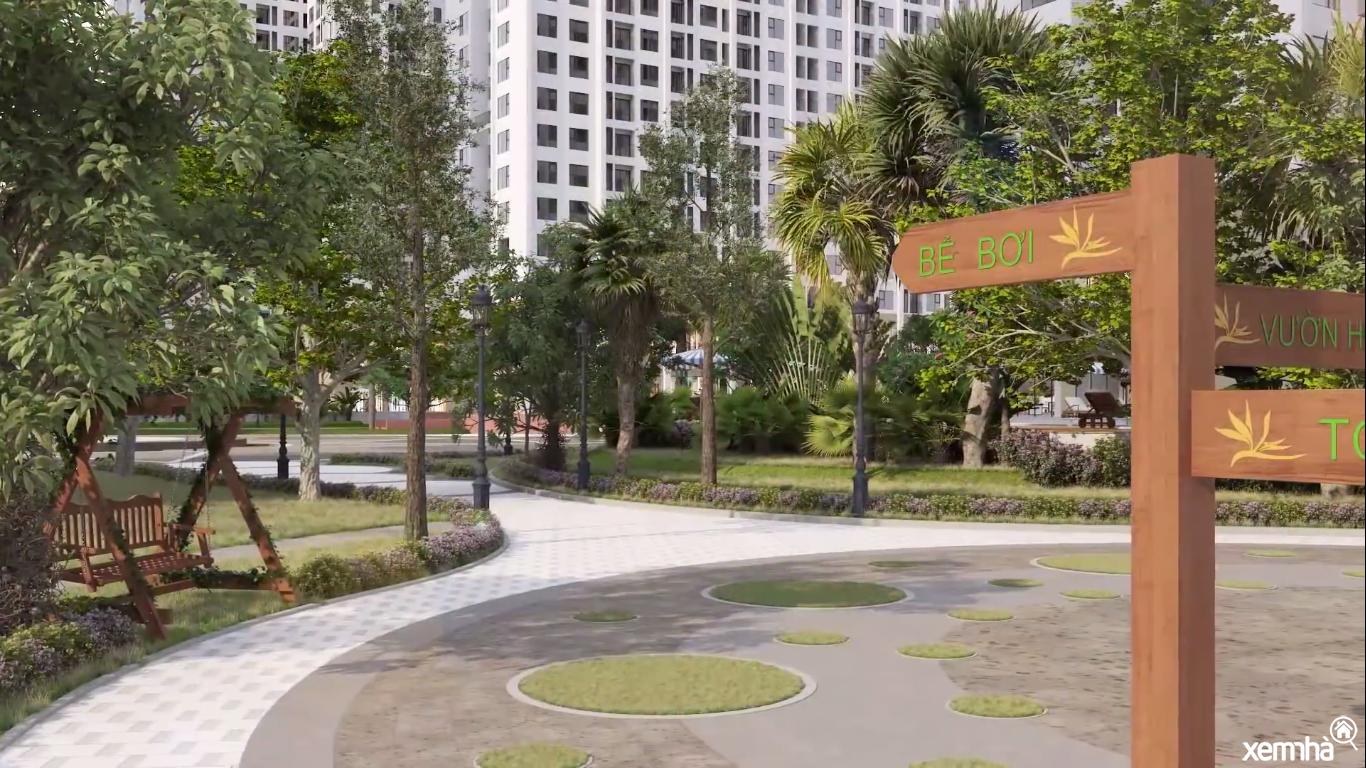 Không gian xanh tại An BÌnh City