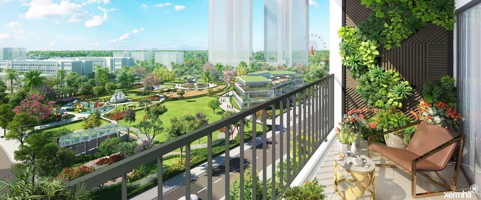 Không gian Xanh tại Eco Green Sài Gòn