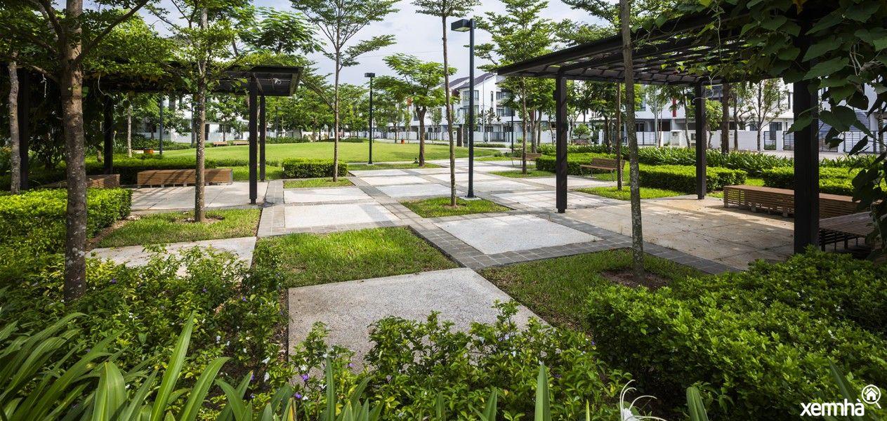 Không gian xanh tại Gamuda Garden