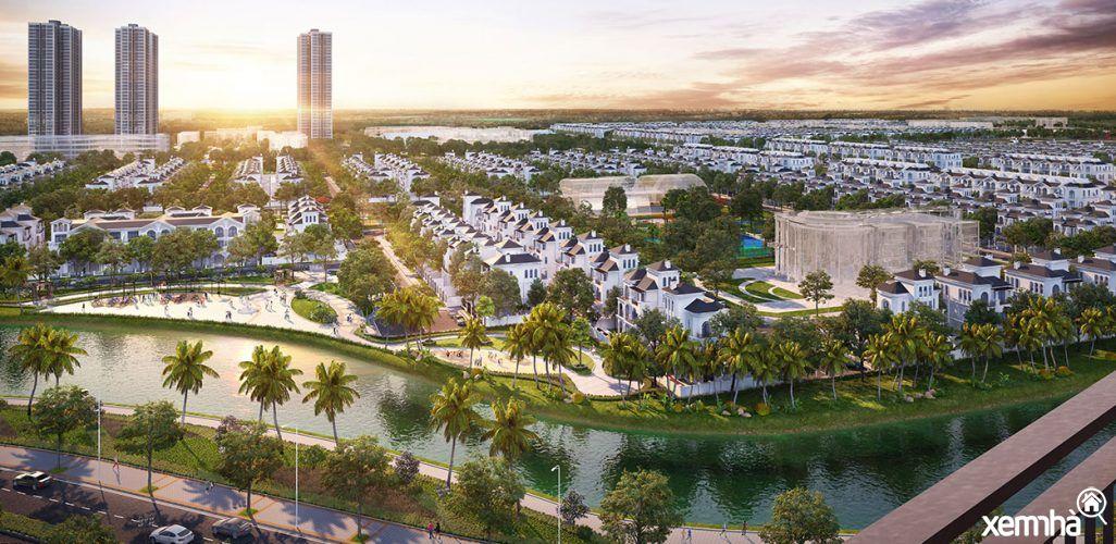 Khu đô thị ven đô Hà Nội