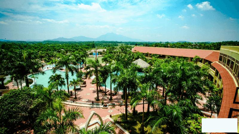 Thiết kế tràn ngập cây xanh của Asean Resort & Spa