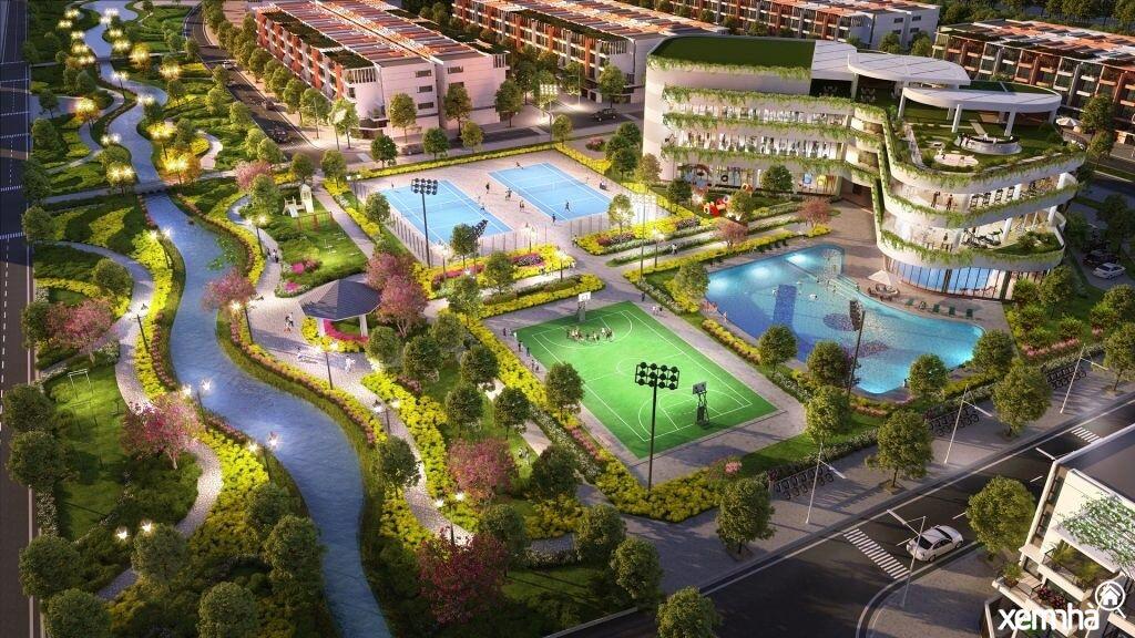 Khu thể dục thể thao dự án CEO Mê Linh
