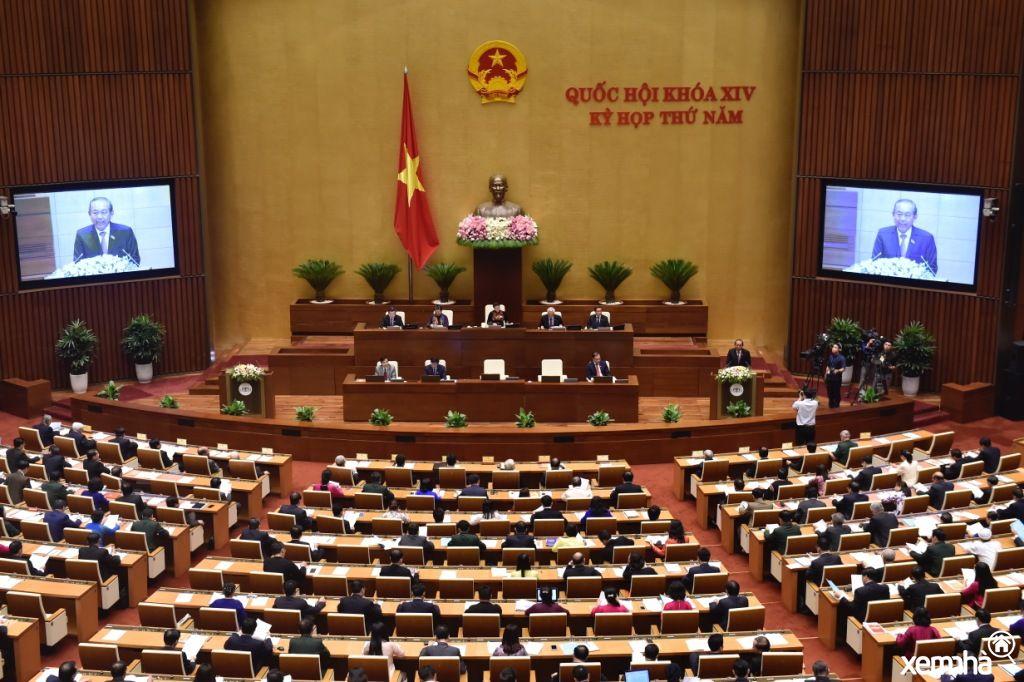 Quốc hội vừa rồi thông qua việc xây dựng sân bay Long Thành