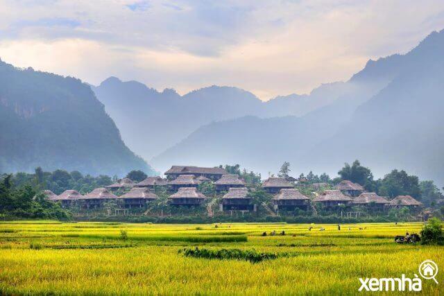 Quang cảnh Mai Châu Ecolodge