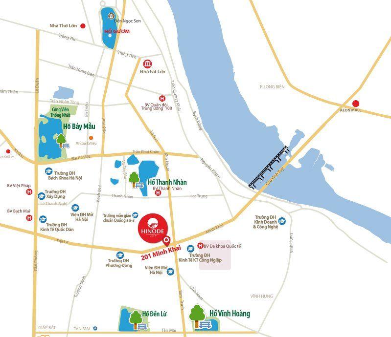 Maps Hinode City