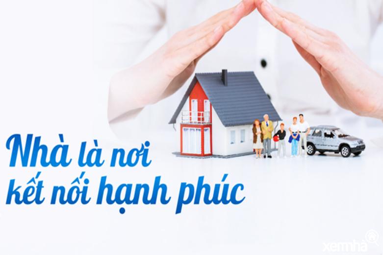 Nhà nơi kết nối gắn kết hạnh phúc gia đình