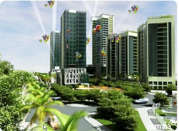 Nhà ở xã hội CEO Mê Linh