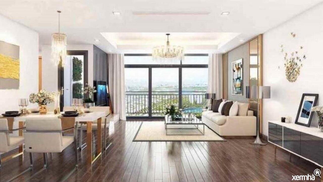 Nội thất căn hộ New Galalxy