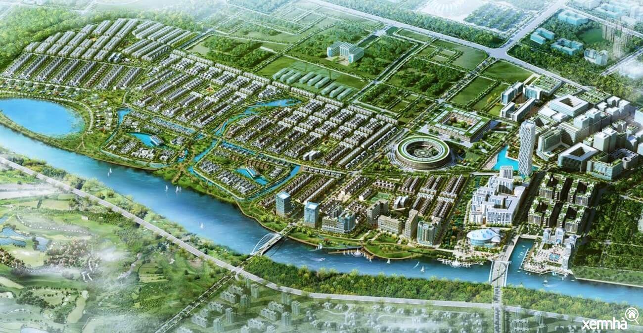Phối cảnh dự án khu đô thị Mỹ Hưng