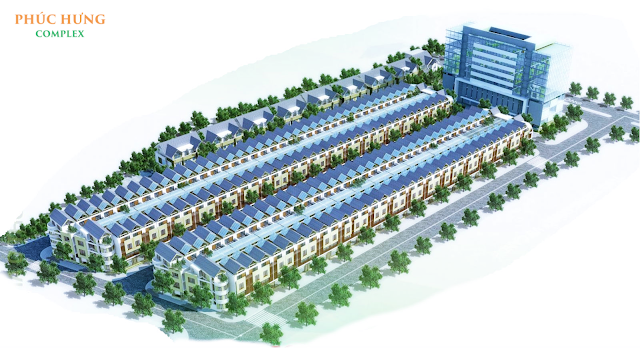 Tổng thể dự án Phúc Hưng Complex