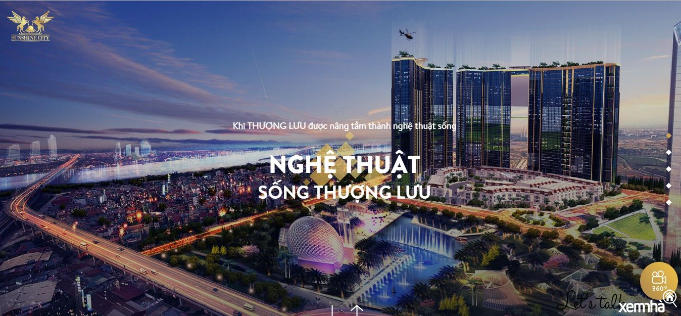Dự án chung cư SunshineCity Nam Thăng Long