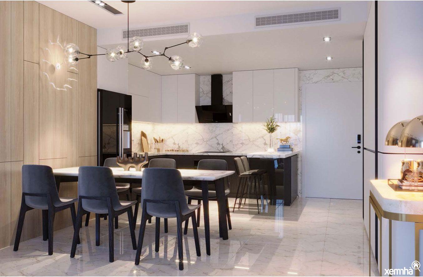 Thiết kế nội thất chung cư Sunshine Boulevard