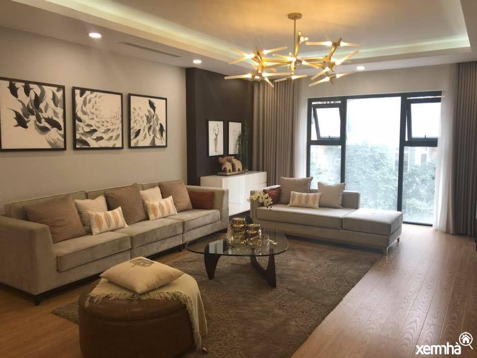 Không gian phòng khách hanoiparagon