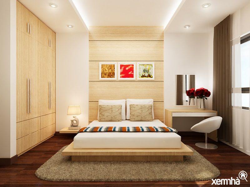 Phòng ngủ dự án chung cư N01T8