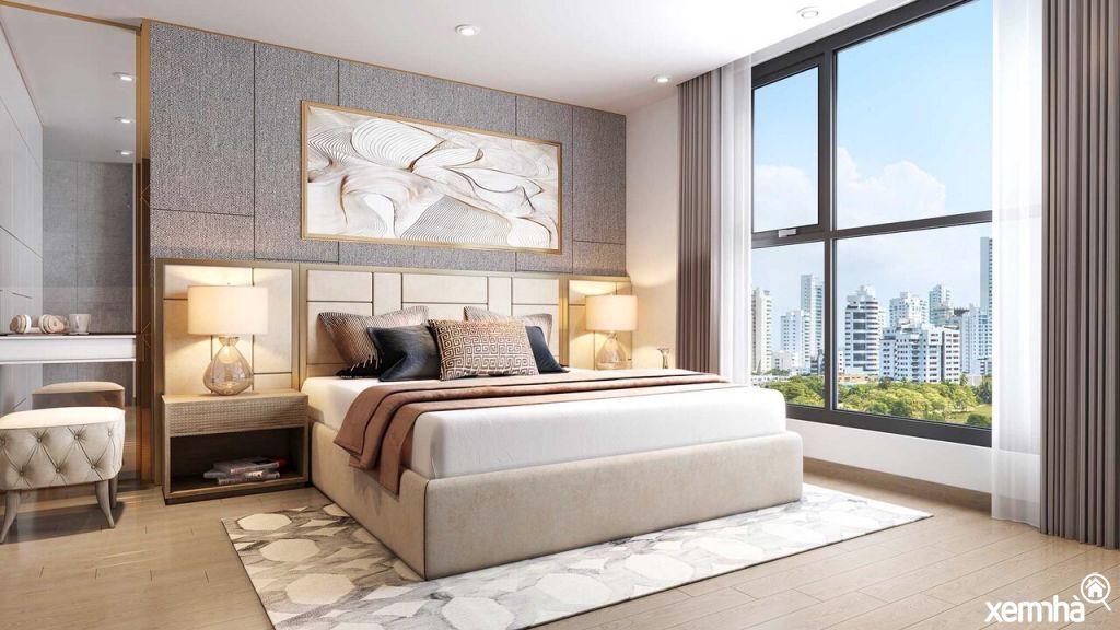 Phòng ngủ chung cư T&T DC Complex