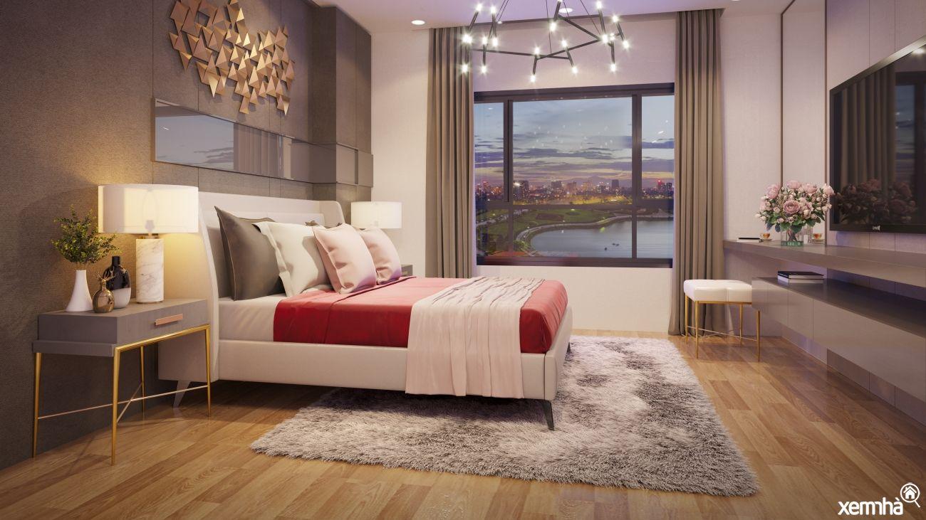 Phòng ngủ dự án Epic's Home