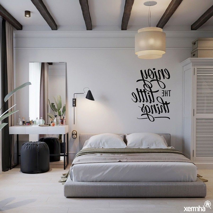 Ánh sáng luôn là yếu tố được chú trọng trong phong cách thiết kế nội thất dạng này