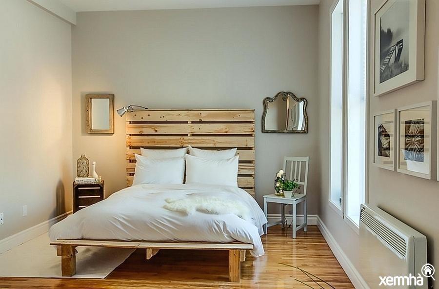 Những gam màu trầm, sáng, không quá nổi bật sẽ thường được lựa chọn khi thiết kế nội thất theo phong cách này