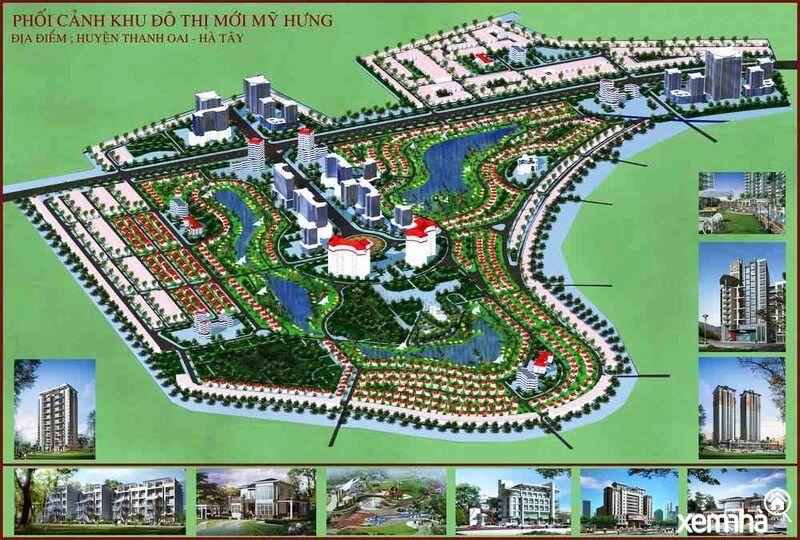 Quy hoạch khu đô thị Mỹ Hưng