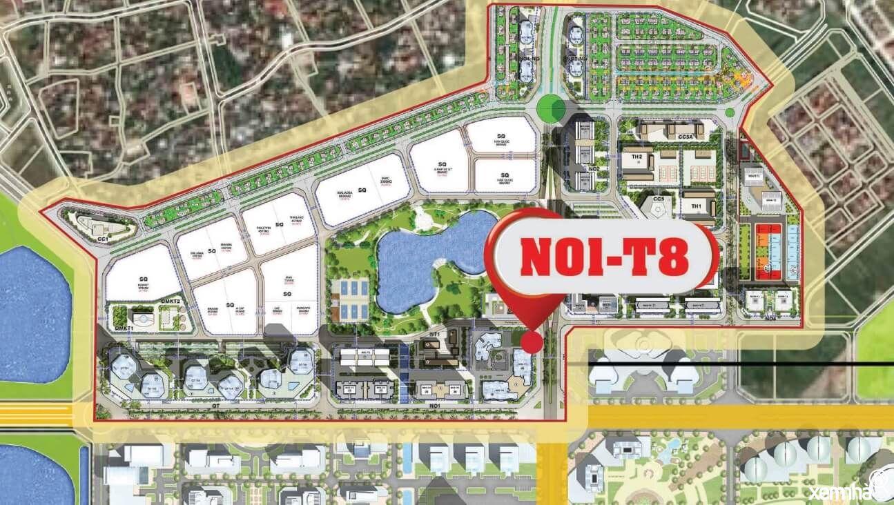 Quy hoạch N0t1 T8 Ngoại Giao Đoàn