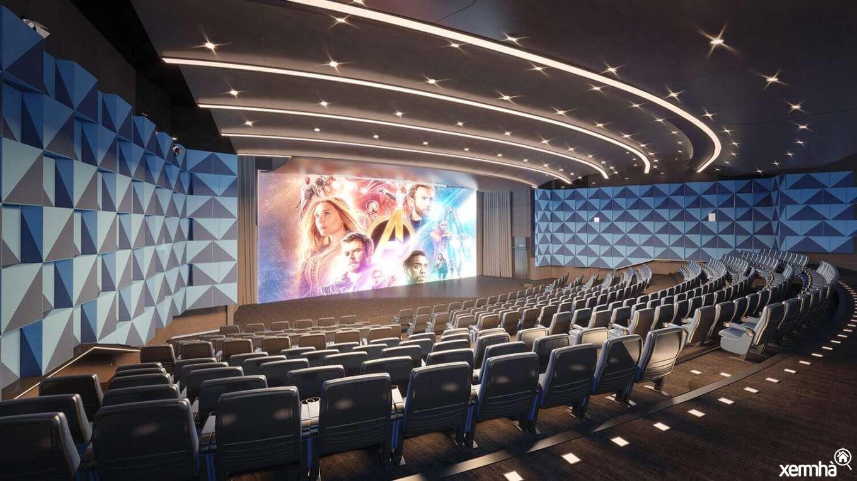 Rạp chiếu phim tại TheZeiMyDinh